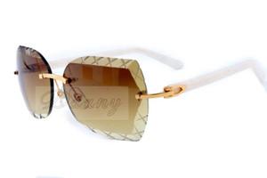 الجملة مرآة، نظارات نحت عالية الجودة نظارات شمسية، والأزياء جين ديان الترفيه 60-18-140 المجلس الأبيض 8300593 الحجم: Mvars فائقة ضوء
