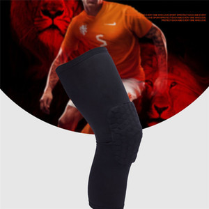 1 Stück Anti-Kollisions-Ventilation Sport Brace Knieschoner Taille Trainer Basketball Kniekompressionsstrümpfe Knie Honeycomb Package Unterstützung