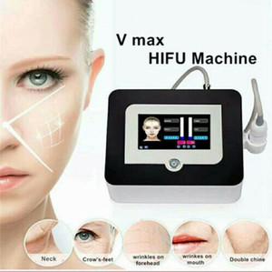 새로운 도착 VMAX HIFU 얼굴은 고강도 초음파 안티가 3 개 카트리지와 주름 제거 아름다움 HIFU 기계를 노화 집중 올려