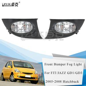 ZUK Brand New High Quality Left Right Fog Lamp Fog Light Front Bumper Lamp For HONDA FIT JAZZ GD1 GD3 2005-2008
