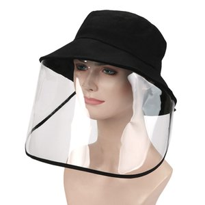 Outdoor UV Protection Sun Cap Traveling Fishing Hat with Removable Visor Face Cover Guard Against Dust Water Spittle Splash