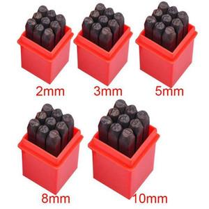 Professionelle Anzahl Stempel Punch Set gehärtetem Stahl Metall Holz Leder Punch Tool für die Herstellung von Taschen