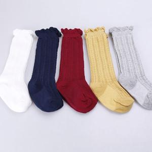 Newborn Baby Kids Toddlers Girls Knee High Stockings Tights Solid Leg Warmer