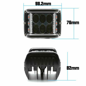 Motosiklet Traktör Tekne 4WD Kapalı Yolu 44 Kamyon SUV için Çalışma LED Işık Lambası