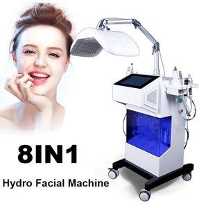 Máquina de alta calidad Hydro Microdermabrasion Peel Facial Hydrafacial Machine Spray Oxygen Hydro Agua Microdermabrasión Máquina de cuidado facial