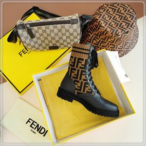 Fendi 2020V nouvelles dames mode casual bottes courtes dames de luxe chaussures de soirée Voyage, matériel en cuir livraison rapide emballage boîte d'origine
