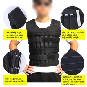 1,5 kg Einstellbare Laden Weste für Gym Training Exercise Swat Sanda Sparring Boxen Gewichtsweste Fitnessgeräte Weighted