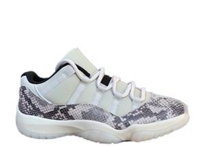 snakeskin 11 انخفاض SE أحذية كرة السلة الأبيض 11S أدنى مستوياته 2019 جديدة رخيصة الرجال النساء أحذية رياضية المدربين مع مربع