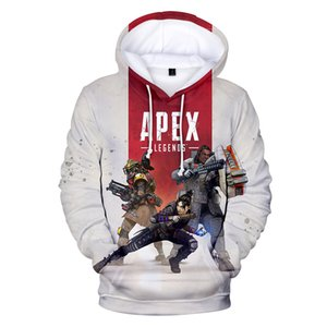 Apex Legends 3D Print designer hoodie Women men luxury Hoodies hip hop Streetwear Colorful Graffiti sweatshirt pullover tracksuit hoodies