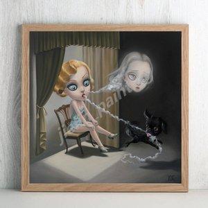 İlginç Xue Wang Marion Peck Is An American Ressam Poster Kanvas Yatak Odası Duvar Sanatı Dekorasyon Resimleri Home Decor On Boyama