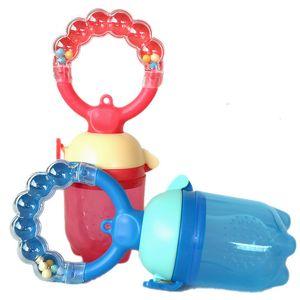 New Kids anneaux de dentition ravitaillements Baby Safe Titiller Tétine anneau Sucette bébé Dummies Titiller Fresh Food anneaux de dentition grignoteuse Feeder