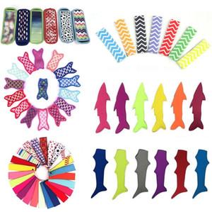 Neoprene antigelo Popsicle borse riutilizzabili Congelatore Popsicle titolari di copertura isolanti Ice Pop Tools Bag Maniche per i bambini Summer Kitchen