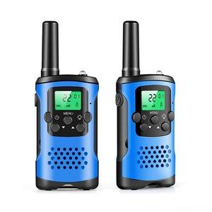 2PCS Two Way Walkie Talkies Radio Interphones para Walking das crianças das crianças ao ar livre Camping Crianças Pretend Play Toy Interação Walkie Talkies He