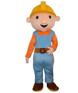Bob the Builder kleidet Maskottchen für Erwachsene für Halloween