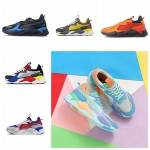 Puma RS-X Avec la boîte des hommes Hasbro RS-X jouets libération chaussures de course pour les hommes de sneakers RS X hommes Sneaker femmes Jogging femmes formateurs garçons
