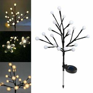 Solar Powered Lawn Lights Outdoor Garden Tree Light Waterproof Patio Night Lamps