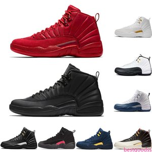 12 12s Basketball Shoes For Men 2019 New Gym Red CNY Flu Game Winterized Ovo White Mens Designer XII Trainers Sport Sneakers