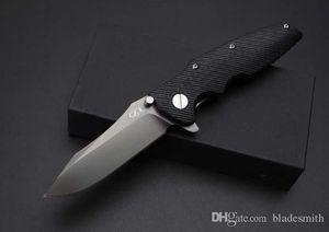 Бесплатная доставка Zero Tolerance Сверхзвуковых Быстрое Открытие Складной нож, высокое качество G10 лезвия, давая подарочную коробка высокого класса