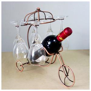 Baş Aşağı Kupası Goblets Ekran Rack Asma Yeni Narin Kırmızı Şarap Şişesi Gözlük Tutucu