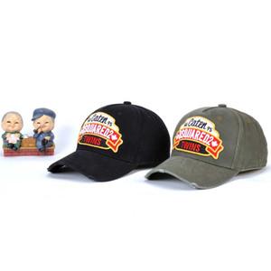 ICON protezioni di sport del cappello della protezione del berretto da baseball Lettera Uomo Nero H And Wear Famous Headwears ricamato Cotone Marchi lingua d'anatra Women' Ivuhe