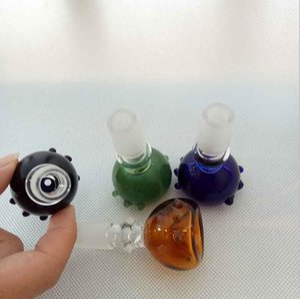 Petrol için Renkli Cam Heady Çanaklar Bong Bowl 14mm 18mm Erkek Ortak The Glass Su Boruları araçları aksesuarları sigara 4 renk kuleleri