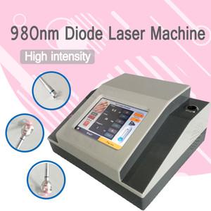 980nm лазерная машина удаления вены спайдера удаление грибка ногтя Физиотерапия 3 В 1 980nm диодная лазерная машина