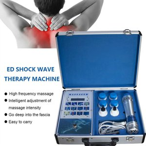 Health Care Electric Shockwave Therapy Medical Equipment Back Body Pain Relief Shock Wave Massage Gun Machine With 7 Treatment Heads