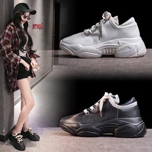 Papà scarpe donna 2019 Scarpe Autunno Baitazhi affumicato Scarpe Ventilazione Ins Black Street Tempo Sneakers