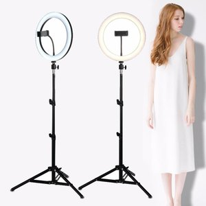 LED Selfie Ring Light Studio Photography Photo Filled Ring Light, Dimmable with Tripod, Used for iPhone Yutube Makeup Live Video