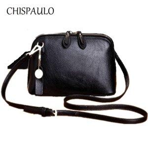 сумки CHISPAULO женщин из натуральной кожи сумки женщин способа Сумка Сумки кисточкой Crossbody Сумка женская сцепления X52