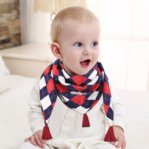 21 style 2019 new scarf autumn and winter personality children's Scarves double triangle towel warm shawl P051