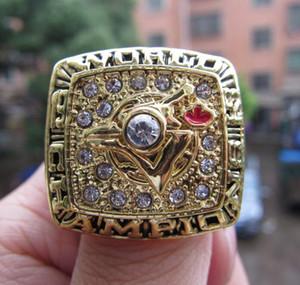 Toronto 1992 Blue Jay s Championnat du Monde de baseball Champions League Anneau Fan Hommes Promotion cadeau en gros 2019 2020 Drop Shipping
