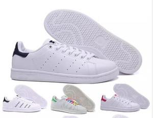 عالية الجودة جديد ستان أحذية رجالية و نسائية أزياء العلامة التجارية سميث جلد الرجال النساء الكلاسيكية الشقق عارضة أحذية الحجم 36-44