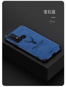 Mobile Phone Case for vivo X30 Y7S x30pro IQoo3 IQoo neo TPU+Leather Elk Creative Protective Cover