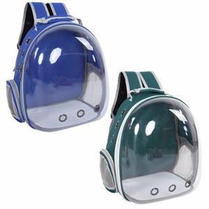 El más nuevo a prueba de agua Pet Cat Backpack Pet Carrier Bag Bubble Espacio grande Pet Carrier Backpack para gato y perro pequeño mochila Y19061901