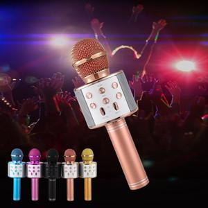 المهنية بلوتوث اللاسلكية ميكروفون المتحدث يده ميكروفون كاريوكي ميكروفون مشغل موسيقى غناء مسجل KTV ميكروفون جديدة