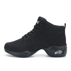 2018 nuove scarpe da tennis alito di ballo per le donne moderne pratica Dance Shoes cachemire ragazze flessibile Jazz Hip Hop Scarpe Uomo Fitness