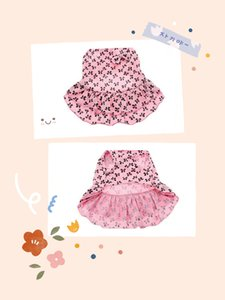 2020 Hot Sale Pet Summer Dress Cute Princess Style Dog Clothes Pink Puppy Skirt Dog Clothes Pet Supplies Different Sizes