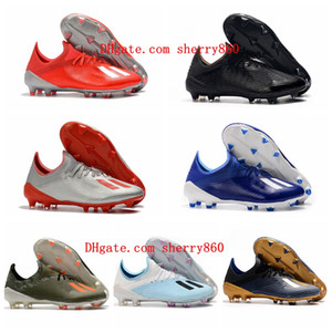 2020 top quality new arrival soccer shoes mens socer cleats X 19.1 FG football boots scarpe calcio blue