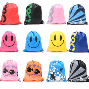 Waterproof Travel Shoulders Bag Storage Shoes Bag Drawstring Backpack For Baby Kids Toy Lingerie Makeup Riding Cycling Bags HH7-1975
