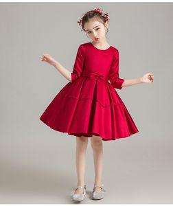 niños tienda de bebé de Linda vestidos de la muchacha envían las imágenes de control de calidad antes de envían