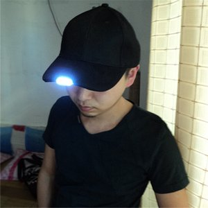 Dark Bright Glow Reading Fishing Jogging Light Up LED Baseball Cap Sport Hats Luminous Hat IK88