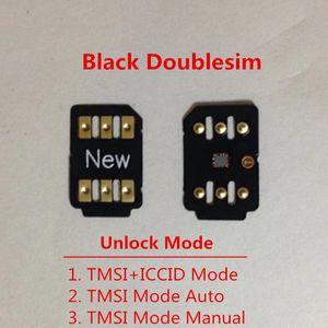 Свободный DHL Новый двойной SIM Unlock Card для IOS 13.X для США / T-Mobile, Sprint, Fido, DoCoMo других носителей Turbo SIM