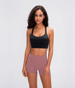 2020 новой Женщина Спорт ню чувство бюстгальтера Йог Центр тренировка Vest Sexy Backless Бюстгальтер Фитнес Running Топы Sexy Lady белье