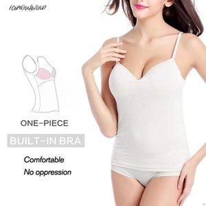 Été Sexy Crop Tops Camis Coton Coton Femmes Sans Bretelles Débardeur Solid Fitness Lady Camis Casual Blanc Noir Top