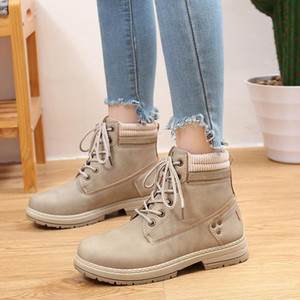 2020 women fashion boots snow martin boot ankle shot for winter triple black chestnut pink womens shoe