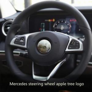 Mercedes -Hemen Z Amg Direksiyon Logo Değiştir Glc260 Dekoratif Standart Sınıf C C200l Yeni E -Class İç E300l Özel Ürünler