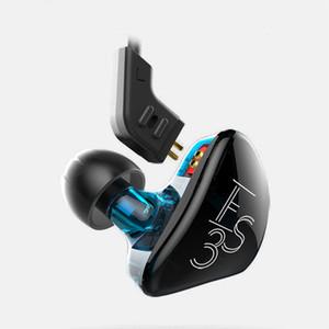 KZ ES3 Wired Kopfhörer HIFI Bass Sport Kopfhörer Dynamic Music Headset ersetzt Kabel Earbuds für mobile Smartphone