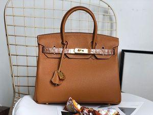 sacs à main designer Harms 25cm 30cm 35cm femmes mode totes litchi modèle en cuir véritable designer sacs dames sac à main de luxe sac à main