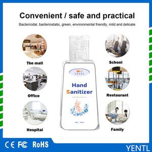 Envío gratuito 300 ml de gel de lavado desinfectante de la mano 75% Grado de alcohol de secado rápido de la